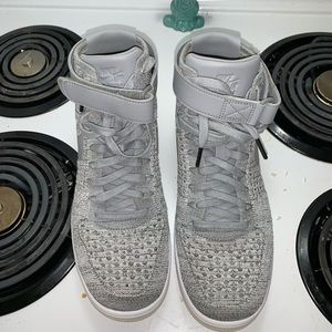 Nike's Air Force 1 Flyknit Mid wolf grey